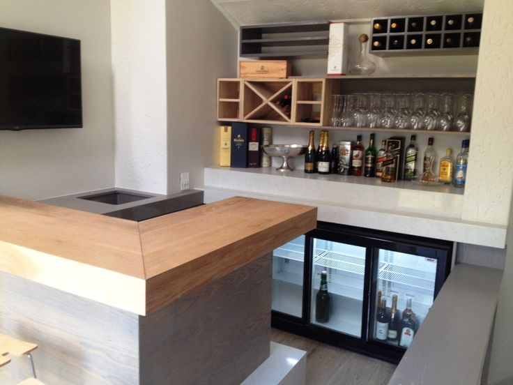 Bruton rd Bar. White oak with monocoat stain