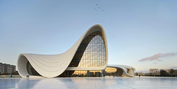 Heydar Aliyev Center in Baku,Azerbaijan.