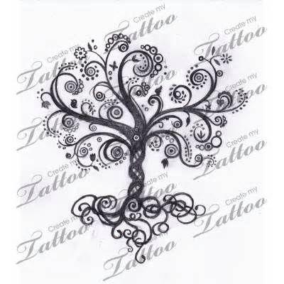 Best 25 swirl tattoo ideas on pinterest swirl design for Sparkling star tattoo