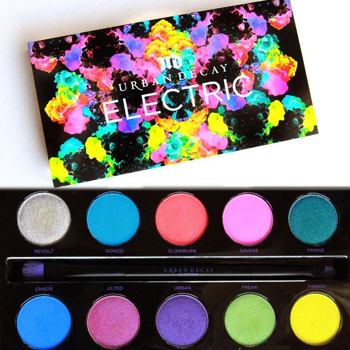 Urban Decay Electric Palette - This palette will be my b-day gift to myself. It is birthday month, after all.