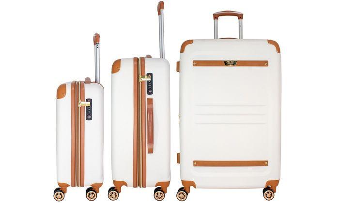 5306eec30 V19.69 Italia Vintage Expandable Hardside Spinner Luggage Set (3-Pc.)