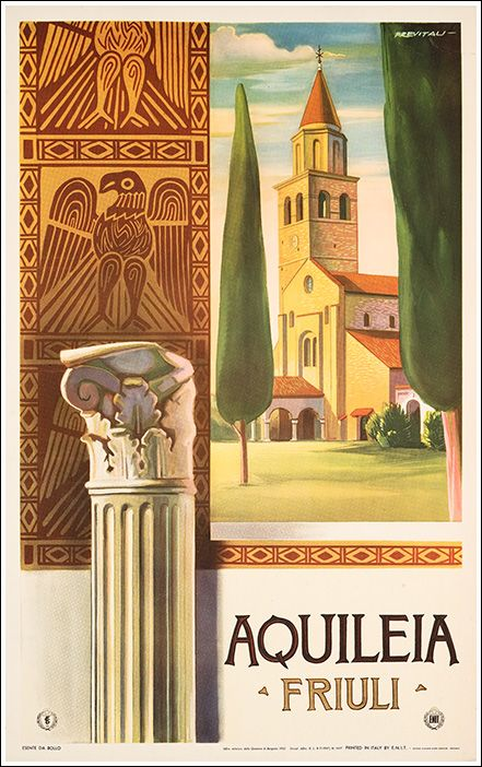 Aquileia, one of the largest and richest Mediterranean cities within the Roman Empire -- Friuli Venezia Giulia