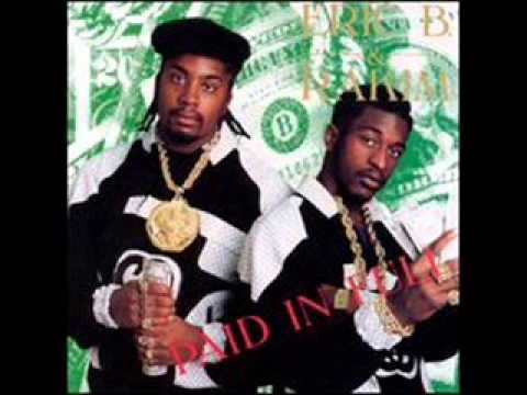 """Paid in Full is the debut album of American hip hop duo Eric B. & Rakim, released on July 7, 1987, by Island-subsidiary label 4th & B'way Records. Recorded at hip hop producer Marley Marl's home studio and Power Play Studios in New York City, following Rakim's response to Eric B.'s search for a rapper to complement his disc jockey work in 1985. """"Eric B. Is President"""", """"I Ain't No Joke"""", """"I Know You Got Soul"""", """"Move the Crowd"""", and """"Paid in Full"""". *posted by Hip Hop Fusion"""