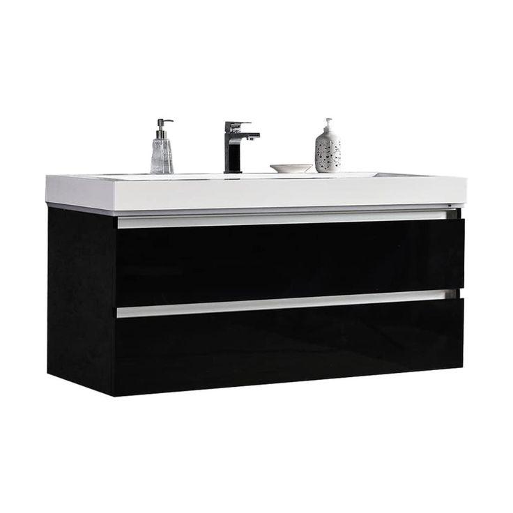diy distressed bathroom vanity%0A Best     Floating bathroom vanities ideas on Pinterest   Wall vanity  mirrors bathroom  Modern wall mirrors and Modern faucets