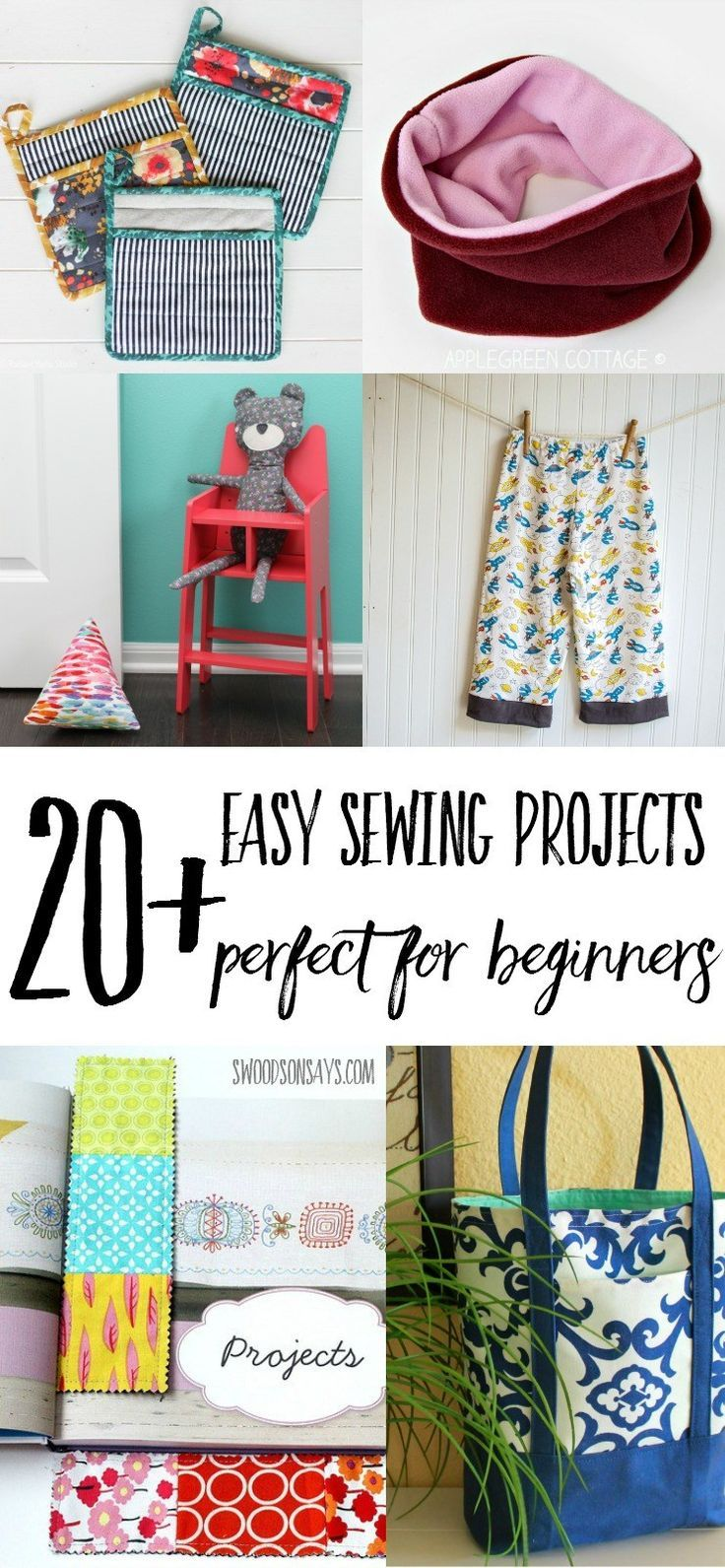 easy sewing projects for beginners Browse sewing projects and tutorials for beginners  easy, free sewing projects for beginners beginner sewing free directions for sewing fabric canning jar covers.