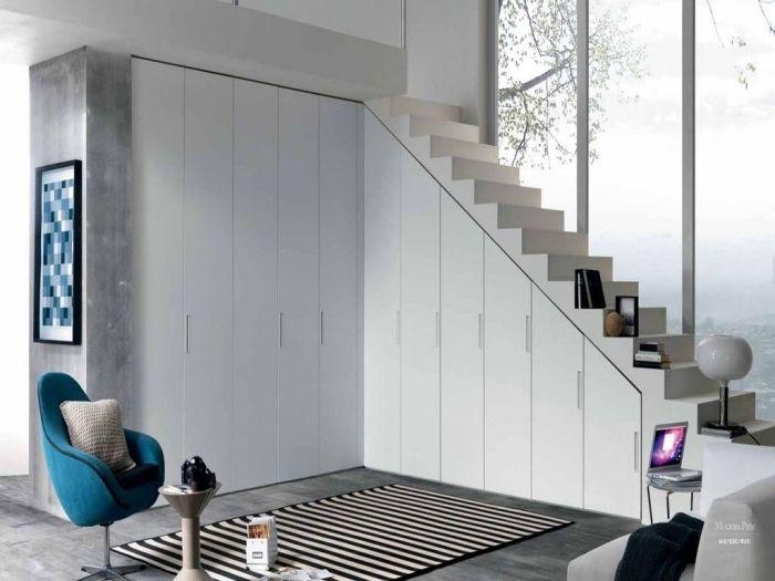 14 best WC images on Pinterest Bathroom, Bathrooms and Bathroom ideas - porte de placard sous escalier