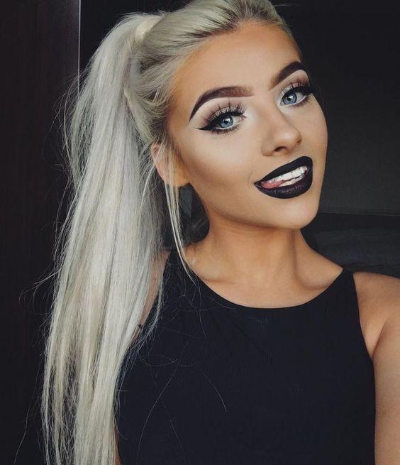 25+ best ideas about Black lipstick makeup on Pinterest | Black ...