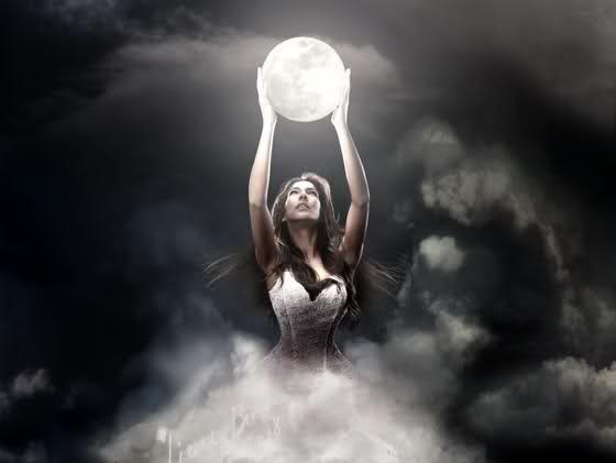 Godin van de maan