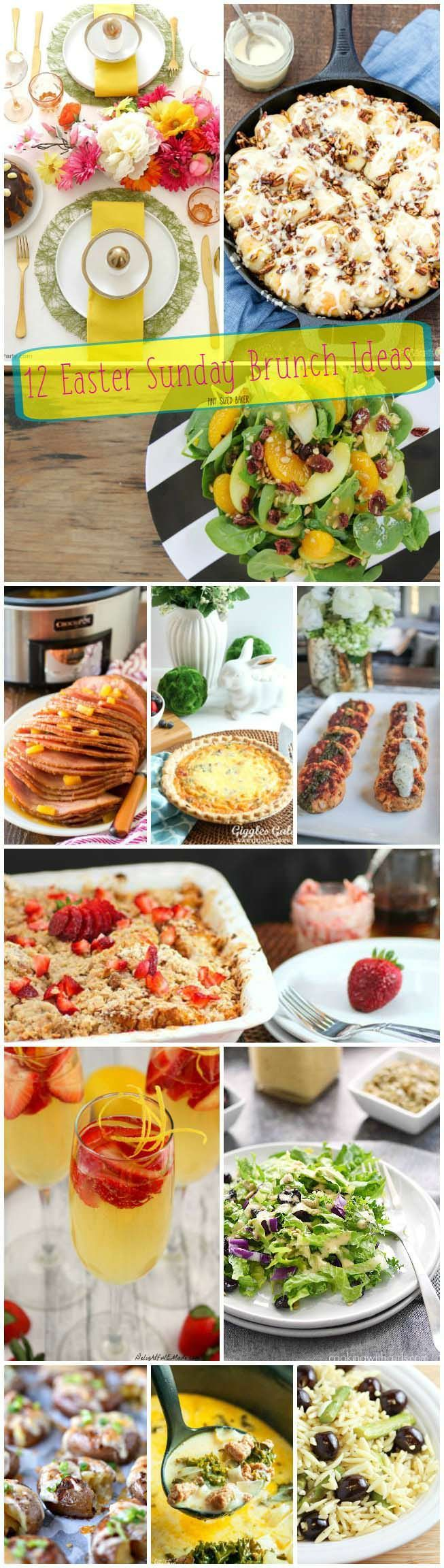 36 best easter images on pinterest easter food easter treats 12 great easter sunday brunch ideas perfect for your familys holiday gathering negle Gallery