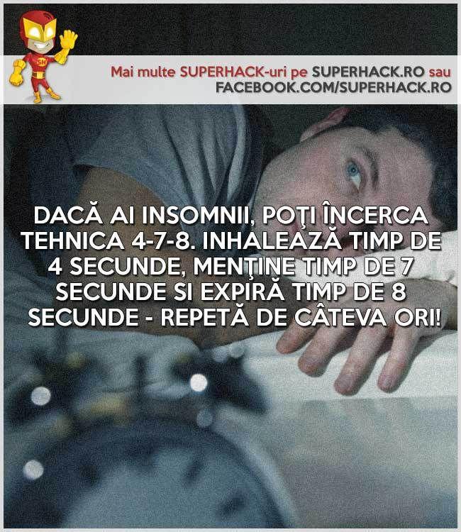 Nu poţi dormi noaptea? Poate metoda asta te va ajuta! - SuperHack.ro