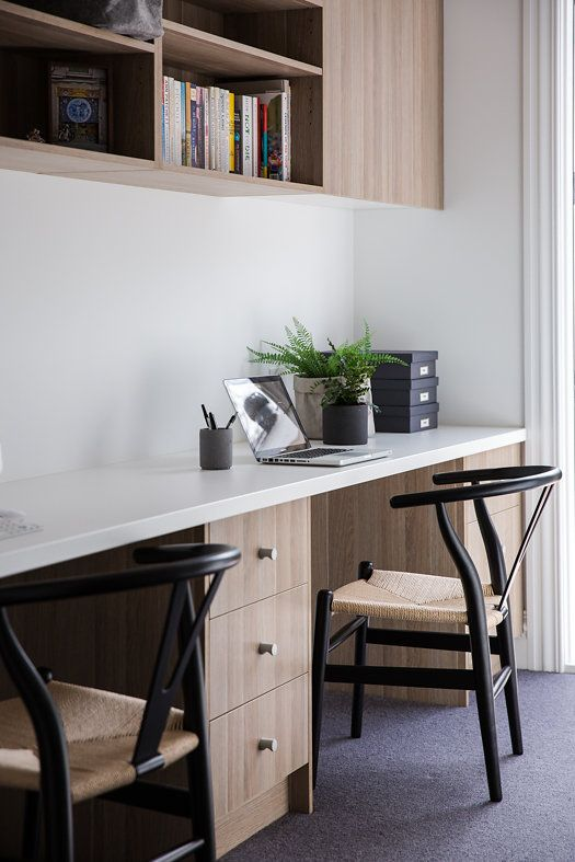 melbourne builders home renovation study joinery home office rh pinterest com