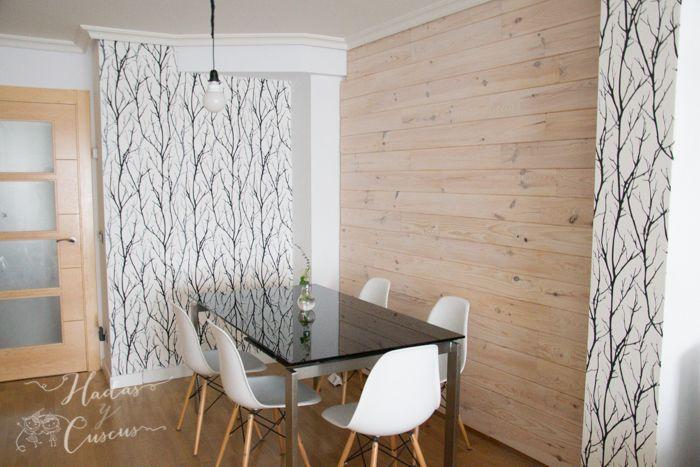 Diy como poner una pared de friso de madera home - Pared de madera decoracion ...