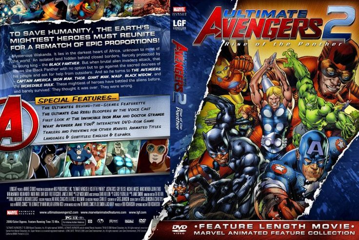 Ultimate Avengers 2 DVD cover http://leojpeo.blogspot.in ...