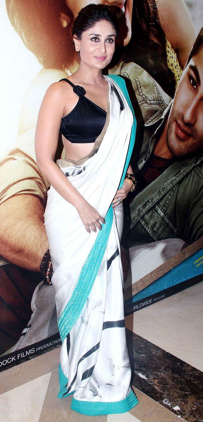 Kareena Kapoor at the music launch of 'Lekar Hum Deewana Dil'.***