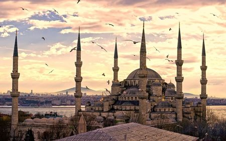 Mosk in İstanbul...