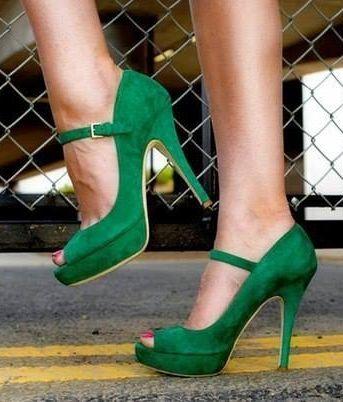 Green Shoes // bjoetifoel