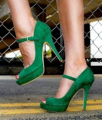 Green Shoes // bjoetifoel