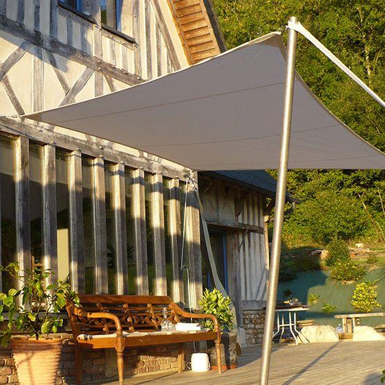 les 25 meilleures id es concernant toile tendue ext rieure sur pinterest toile tendue terrasse. Black Bedroom Furniture Sets. Home Design Ideas