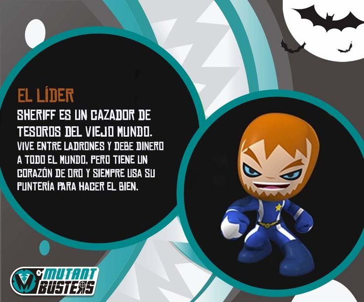 Sheriff - Member of La Résistance | Mutant Busters - TV ...