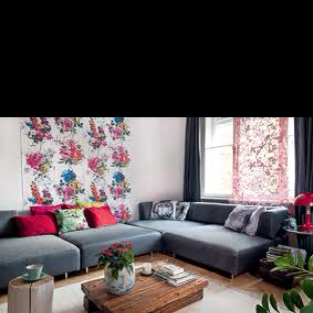 Cozy and modern decor