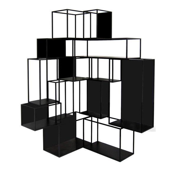 Cornerblock Shelf - Black