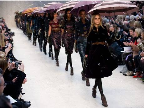 All runways lead to Cara Delevingne!