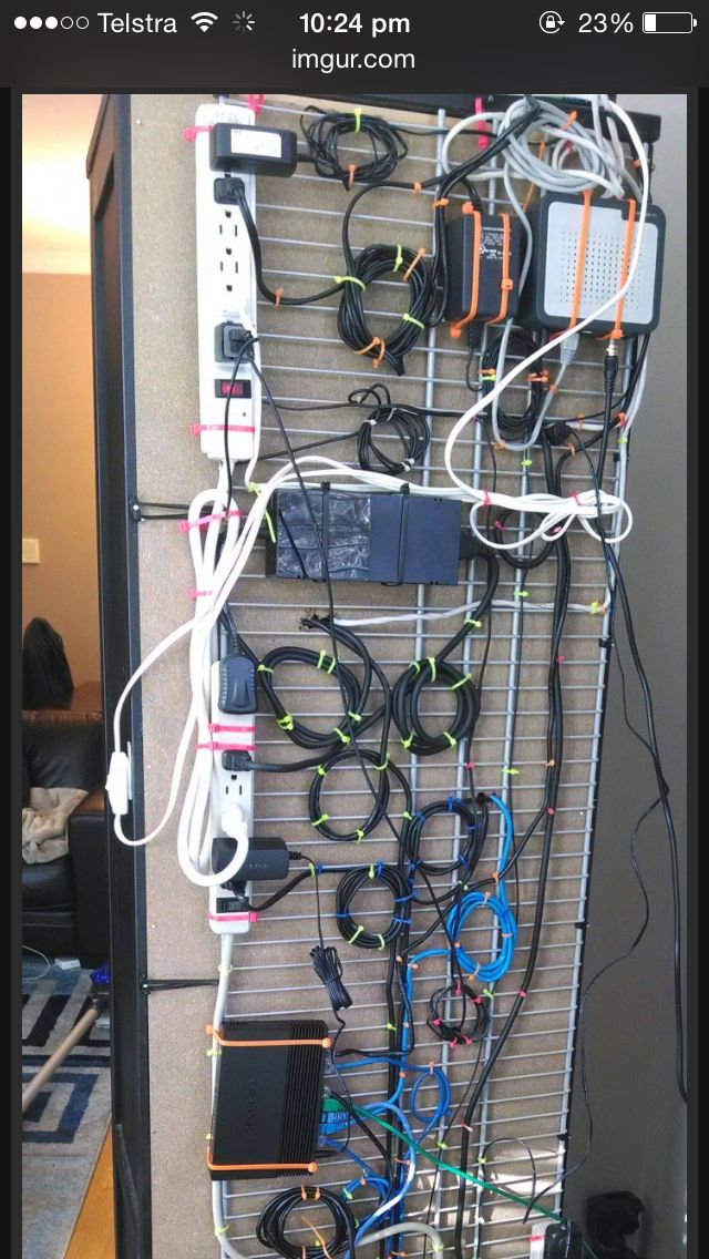 28 best wire management images on Pinterest | Cable management, Cord ...