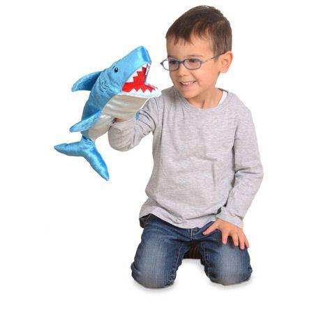 Γαντόκουκλα Καρχαρίας Διαστάσεις: 12 x 42 εκ. Από 2 έως 9 ετών. http://www.toy-box.gr/paixnidia/koukles/gantokoukles/results,1-90