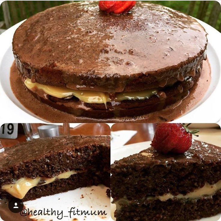 Hi guys what about a healthy yummy chocolate cake for Easter?  If you want the highest cake use a small case Chocolate oat cake or almond flour cake  4 tbsp of oats or almond flour @sukrinuk  4 tbsp milk or yogurt  3 tbsp of sweetener or @sukrinuk sugar  3 tbsp light  diet chocolate powder or chocolate whey  1 tbsp cocoa  1 tsp baking powder  3 eggs Beat everything and put in the oven at 180 degrees for 25 min On the top  1 tbsp corn flour  sweetener  200 ml water  1 tbsp  cocoa  Beat for 3…