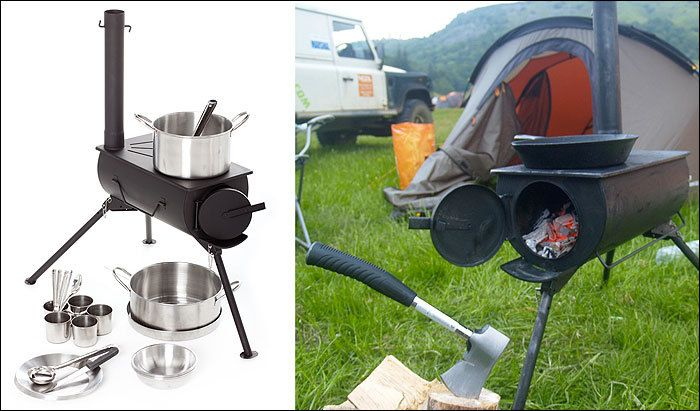 I recently saw a frontier stove online and thought how awesome it'd be for camping. I also thought the cost was silly and that I could make one just as good for...