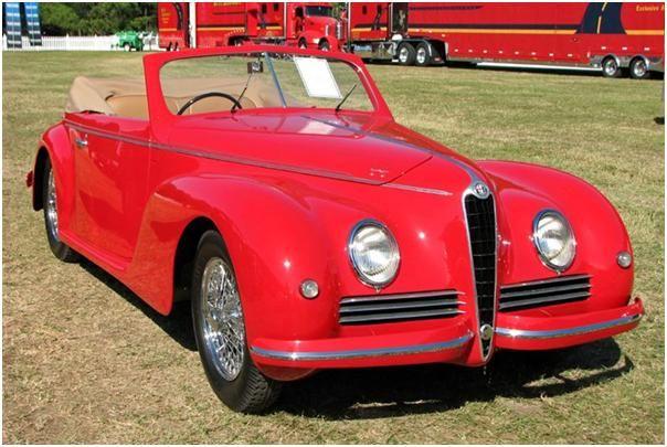 1942 alfa romeo 6c 2500 sports cabriolet front autos alpha romeo rh pinterest com