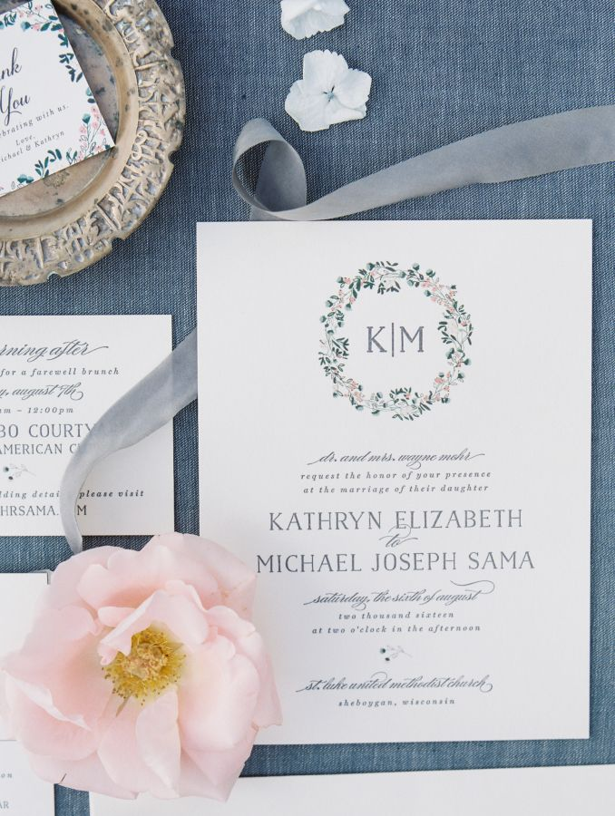 Charming Wisconsin Wedding with a Dream Designer