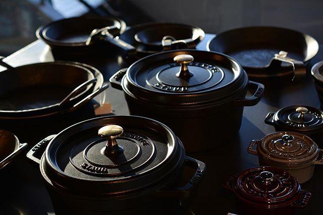 Steel tools #livingmotif #interior #interiordesign #interiordecor #interiorstyling #store #roppongi #tokyo #staub #turk #kitchentools #ストウブ #ターク #フライパン #鉄鍋 Yummery - best recipes. Follow Us! #kitchentools #kitchen