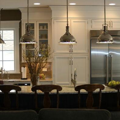 Harmon pendant restoration hardware beach house kitchens pinter - Stainless steel kitchen pendant lighting ...