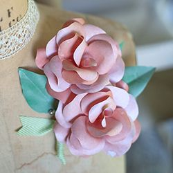 A few weeks ago a reader asked me for some ideas on how to make her paper wedding flowers into corsages and boutonnières. This tutorial was on my list so I pushed it up to the front and here you ha...