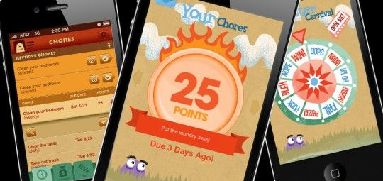 ChoreMonster app gamifies doing chores for your kids