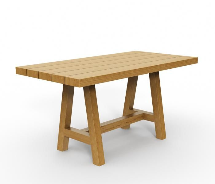 Alpha | UCI Table. Solid timber structure. Made to order. Customisable.