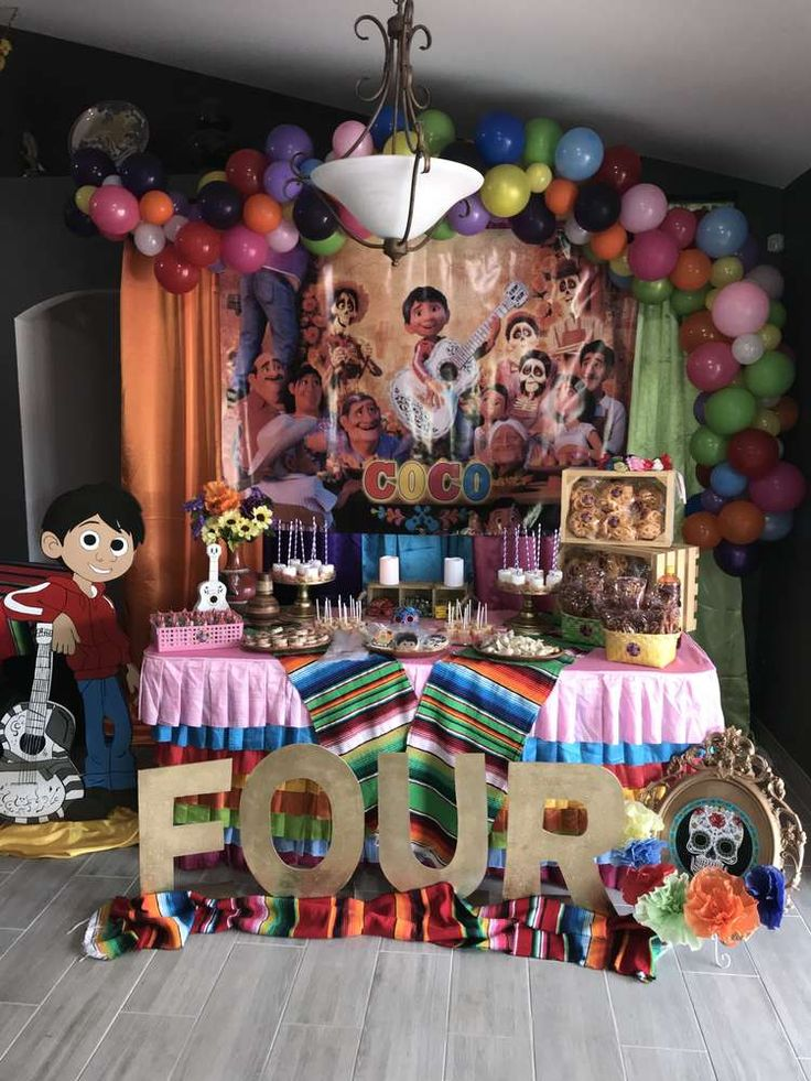Coco Birthday Party Ideas 2384 best Boy