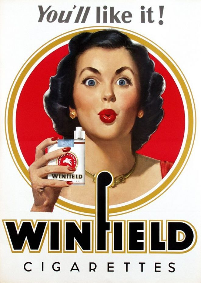 #Winfield – c. (1955) #cigarettes #advertisements