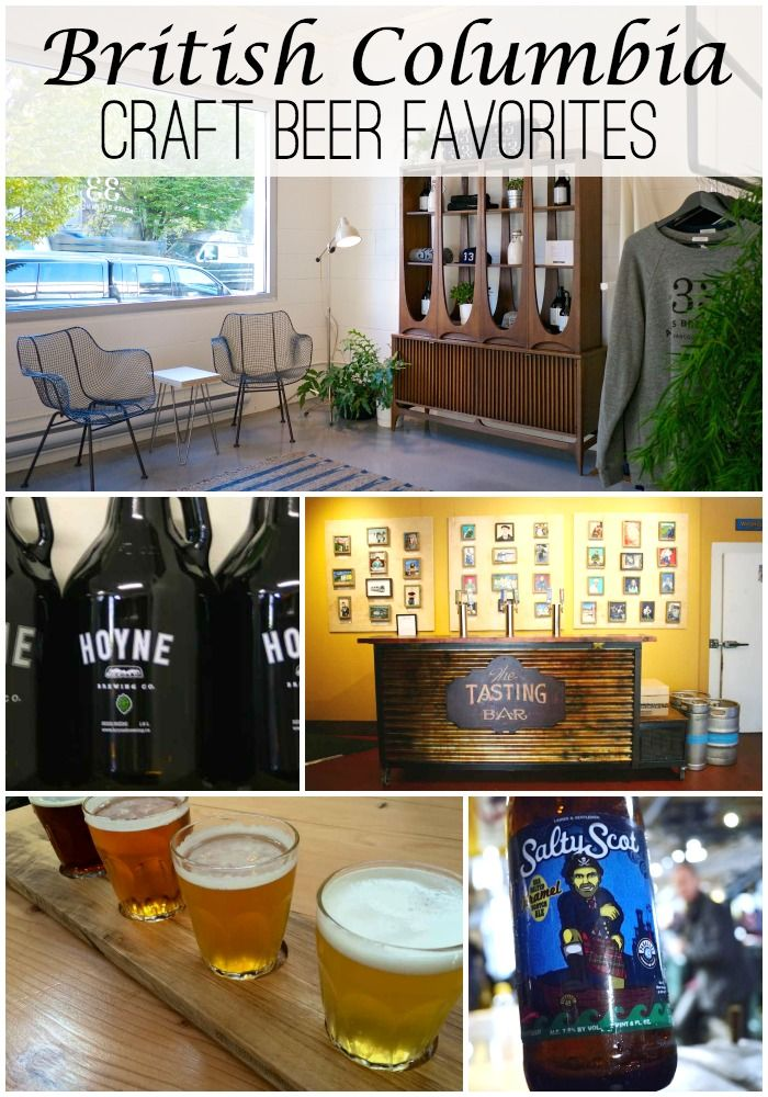 BC Craft Beer: The Best Craft Breweries In Vancouver And Victoria