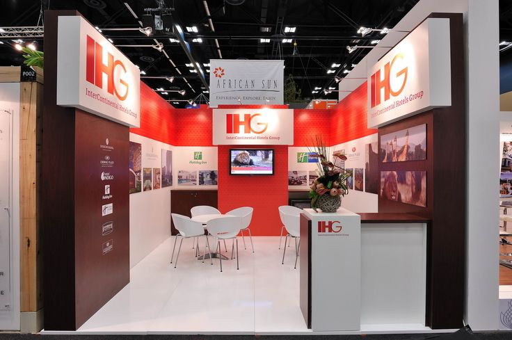 We built this stand, it was designed by Elevations design company.
