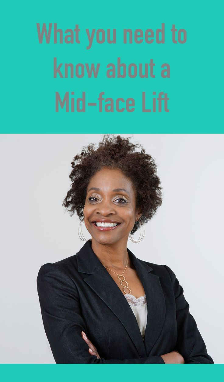Unlike a regular facelift, the mid-face lift is designed to address one of the earliest signs of maturing: the sinking and lowering of the muscles in the cheeks. The surgical procedure involves a full treatment of the lower eyelid areas and the upper cheeks, which tend to lengthen and flatten with age.