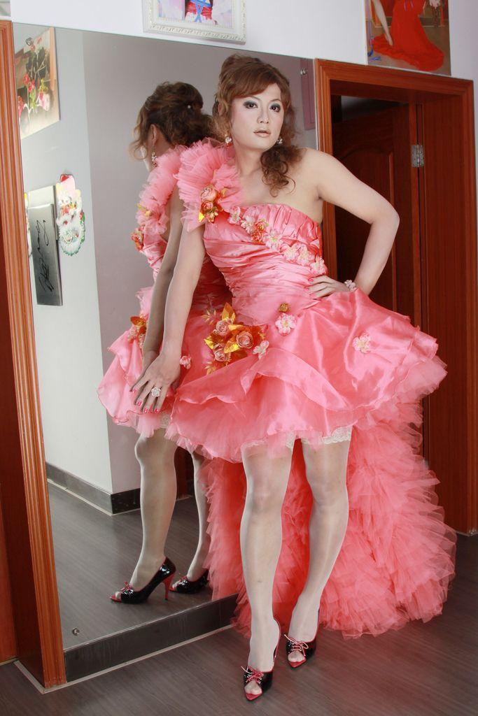 Adult chiffon transvestite wardrobe sex
