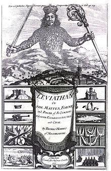 In 1561 publiceerde de Engelse filosoof Thomas Hobbes zijn belangrijkste werk: Leviathan
