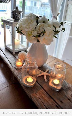 Idées décorer mariage plage