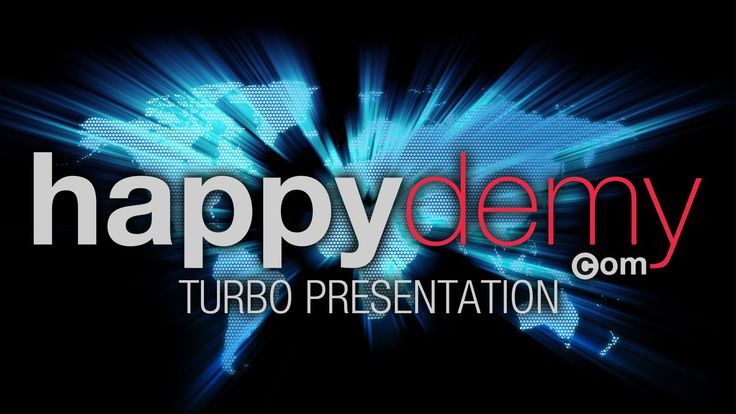 HAPPYDEMY - Turbo Presentation