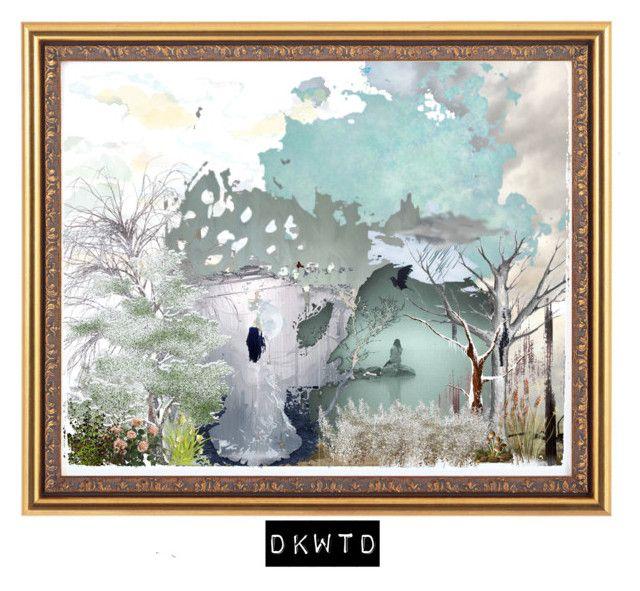 """DKWTD"" by shamalammadingdong on Polyvore featuring art"