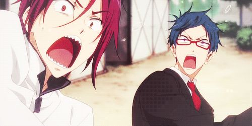 Free! Eternal Summer OVA -Rin and Rei - This was one of the BEST episodes, it was so funny!!