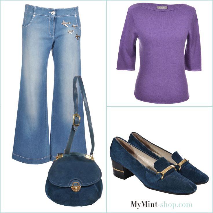 FRIDAY´S NEW ARRIVALS! Jenas: #Chanel  Tasche + Schuhe: #Gucci  Pullover: #Agnona  # Vintage #Onlineshopping   #Designerfashion   #MyMint