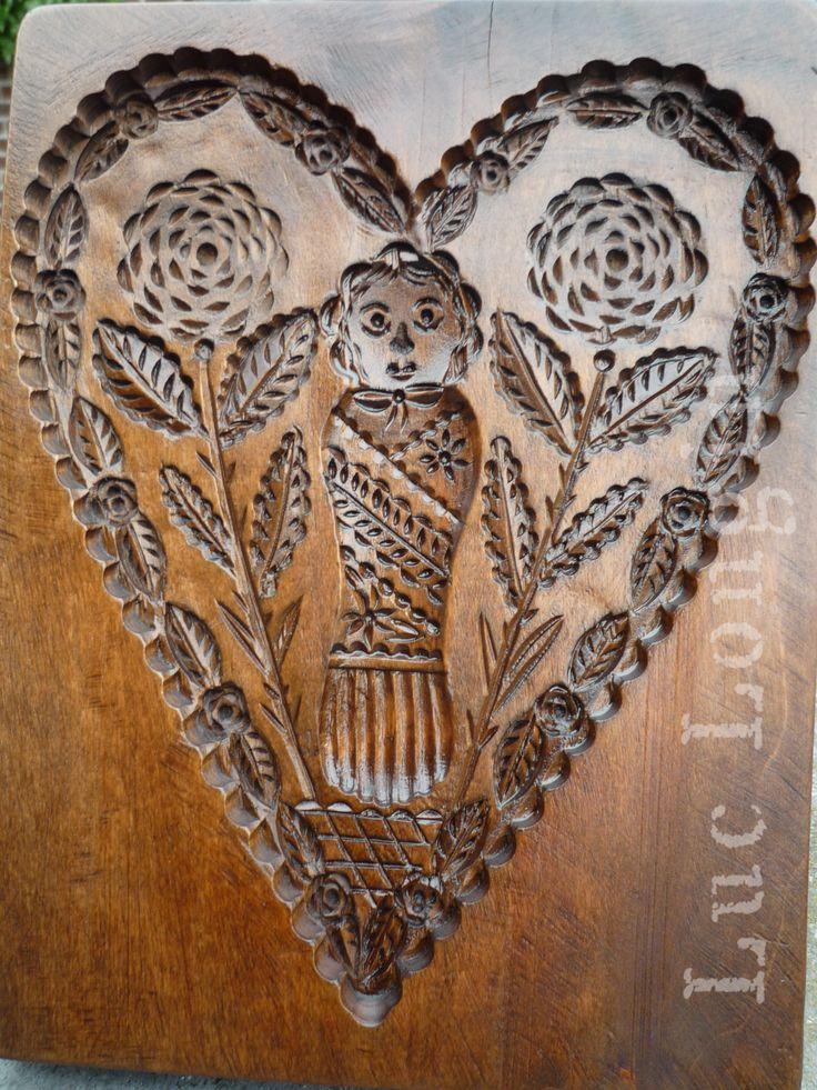 Speculaasplank cookie mold spekulatiusbretter vintage for Acheter miroir ancien